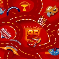 Spielteppichboden & Kinderteppichboden World of Cars